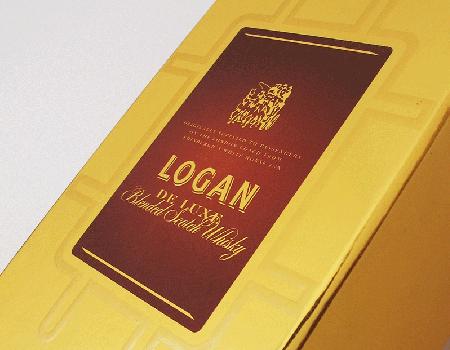 Caixa de whisky Logan