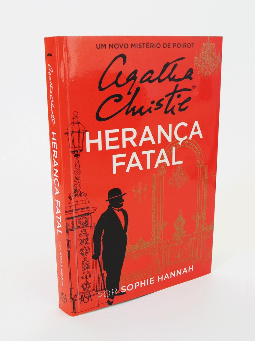 UV Artes Gráficas - Capa Livro Agatha Christie