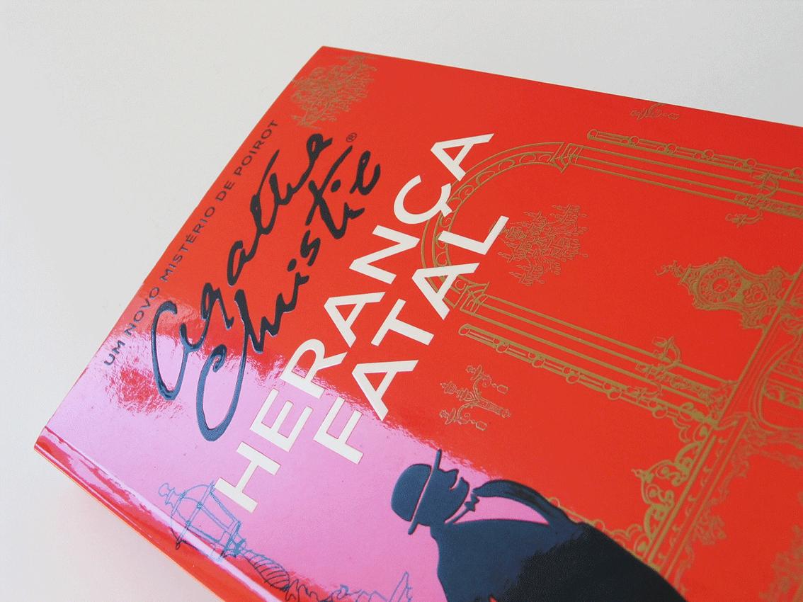 UV Artes Gráficas - Capa Livro Agatha Christie_detalhe