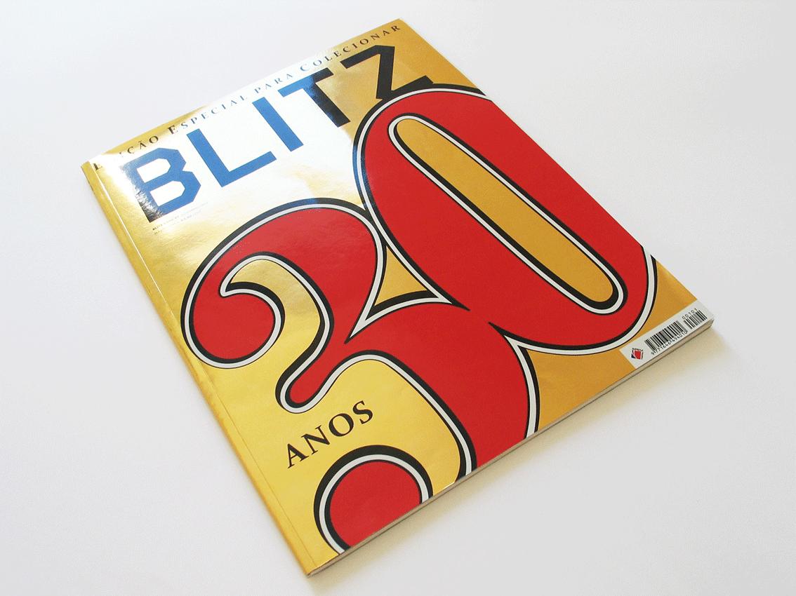 UV Artes Gráficas - Capa Revista Blitz