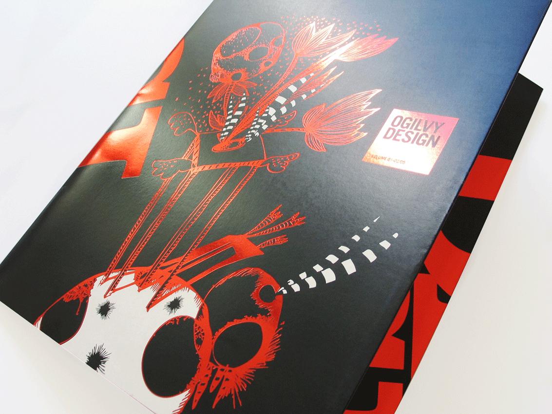 UV Artes Gráficas Capa de Brochura Ogilvy