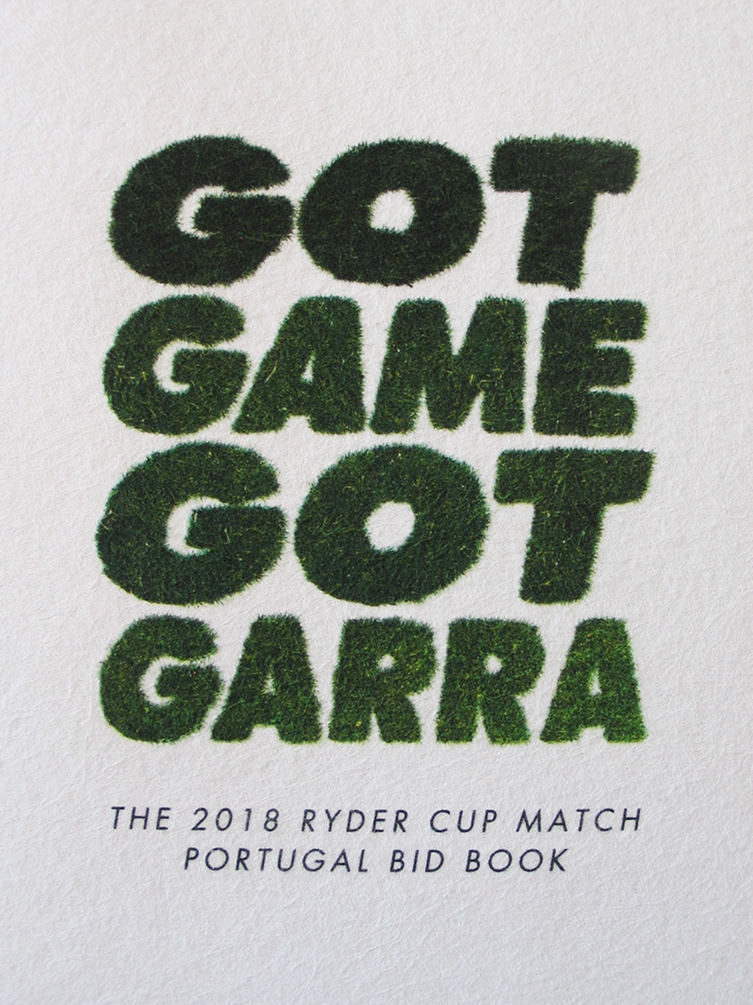 UV Artes Gráficas - Capa de Livro Ryder Cup_1