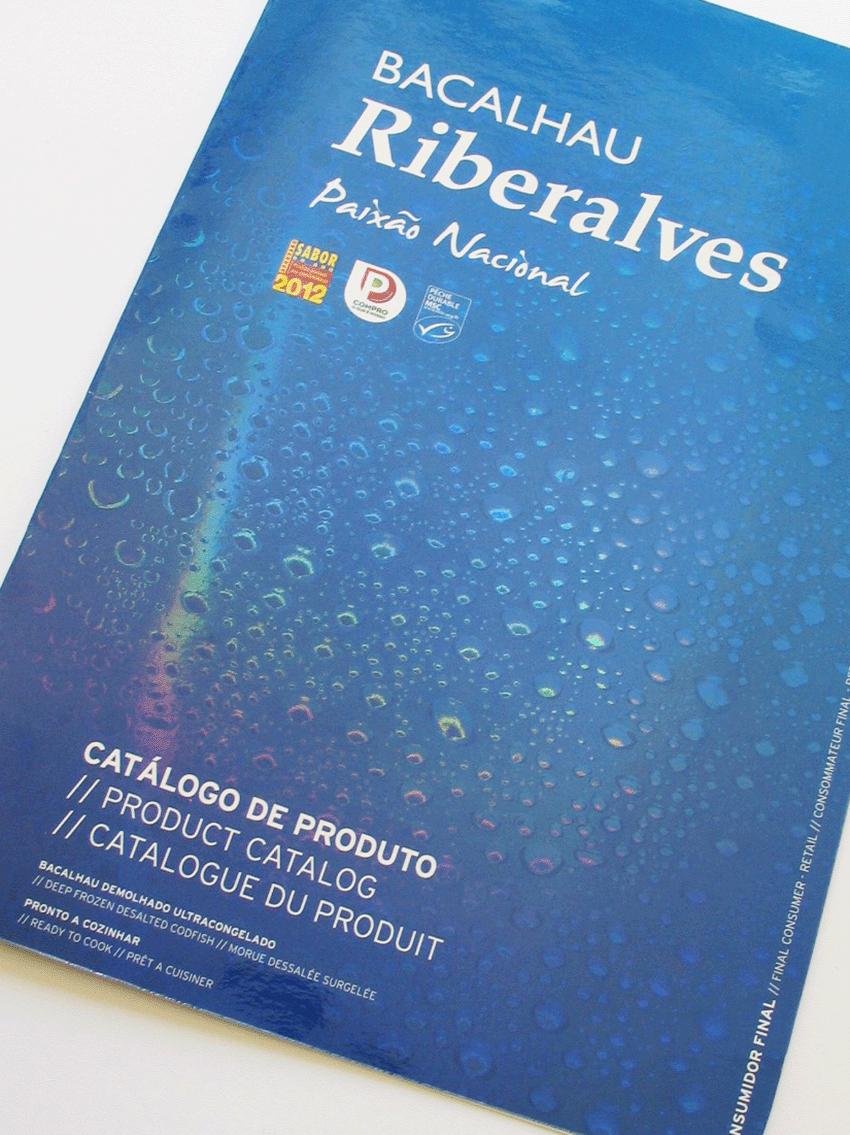 UV Artes Gráficas Catálogo Produtos Bacalhau Ribeiralves