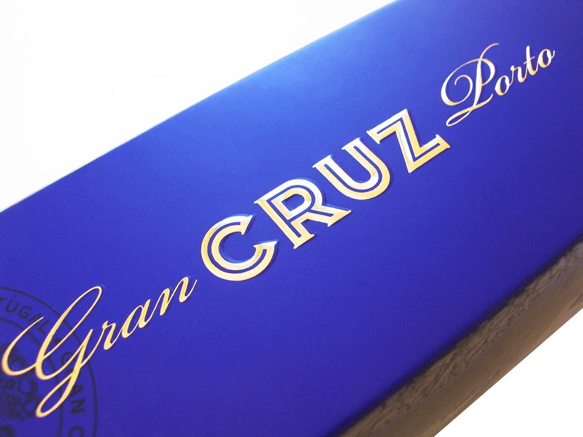 UV Artes Gráficas - Embalagem de Vinho Porto Cruz Special Reserve
