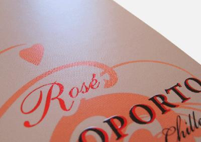 Caixa de Vinho do Porto Rose