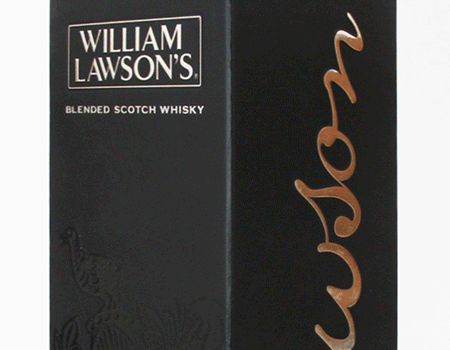 Caixa de whisky William Lawson's