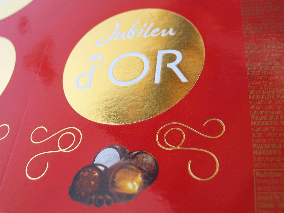 UV Artes Gráficas_Caixa de Chocolate Jubileu