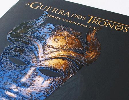 Capa de DVD A Guerra dos Tronos