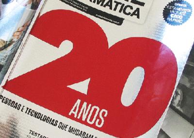 Capa de Revista Exame