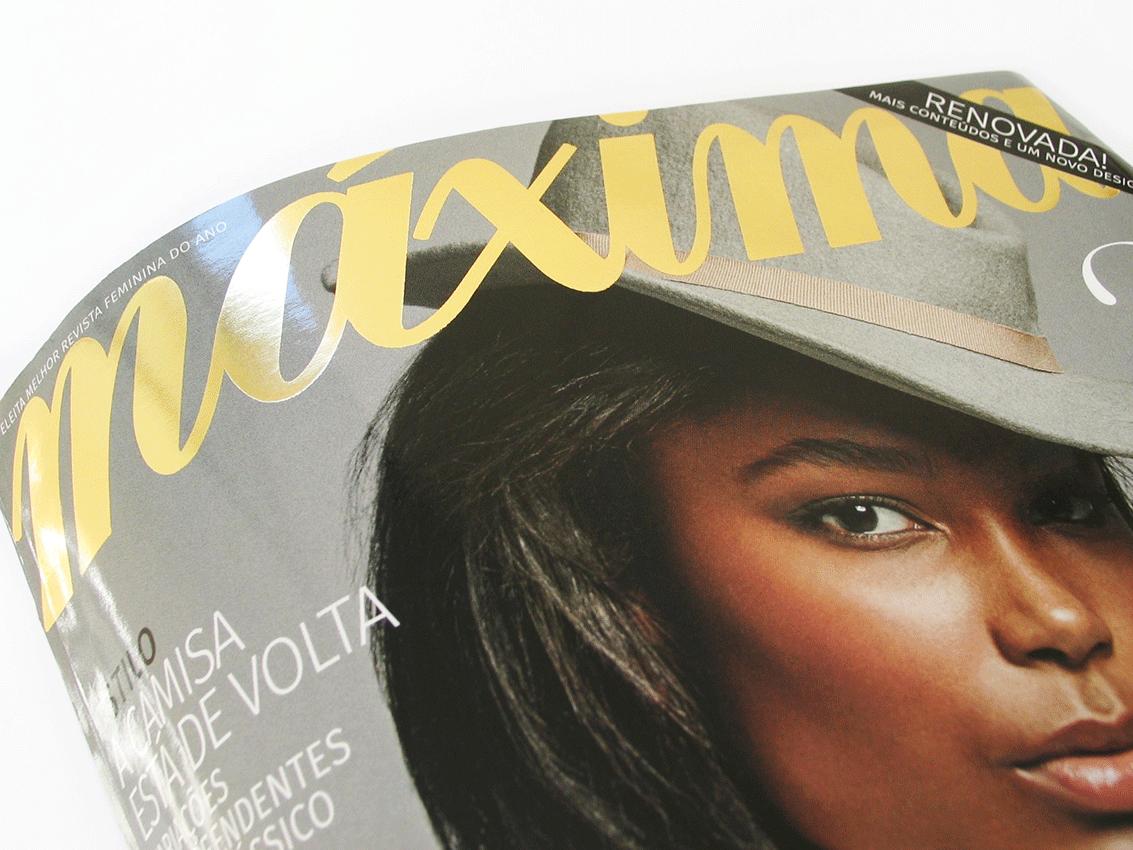 UV Artes Gráficas_Capa de Revista_Máxima