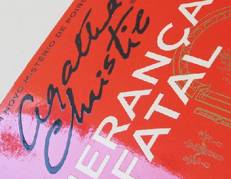 Capa de Livro Agatha Christie