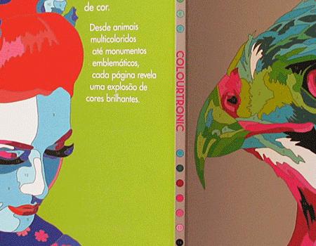 Capa de Livro Colourtronic