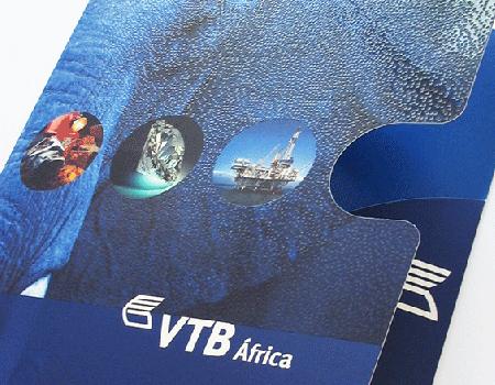 Pasta Porta Documentos VTB Africa