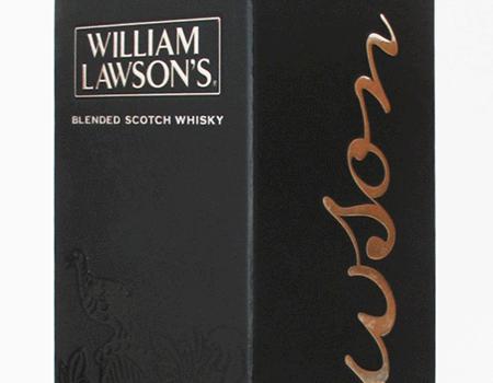 Caixa de whisky William Lawson's